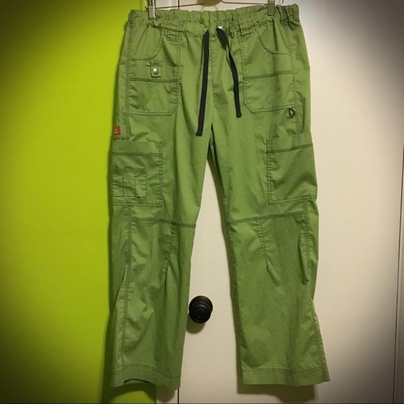 6d26e6cf9f7 Dickies Pants | Sale Like New Ladies Cargo Scrub L | Poshmark